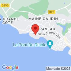 Carte / Plan Phare de Terre-Nègre
