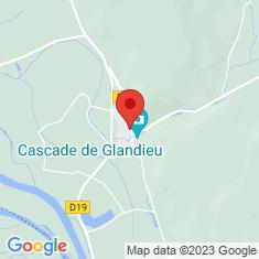 Carte / Plan Cascade de Glandieu