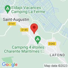 Carte / Plan Saint-Augustin (Charente-Maritime)