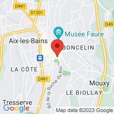 Carte / Plan Aix-les-Bains