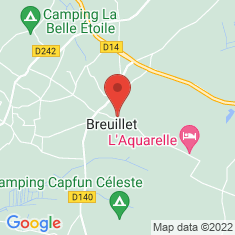 Carte / Plan Église Saint-Vivien de Breuillet