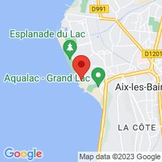 Carte / Plan Aquarium du Lac du Bourget