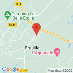 Carte / Plan Breuillet (Charente-Maritime)