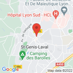 Carte / Plan Saint-Genis-Laval