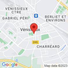 Carte / Plan Vénissieux
