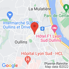 Carte / Plan Oullins