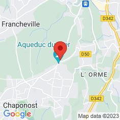 Carte / Plan Aqueduc du Gier