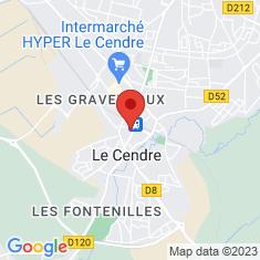 Carte / Plan Le Cendre