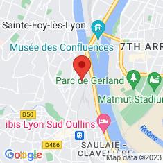 Carte / Plan Aquarium de Lyon