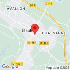 Carte / Plan Étaules (Charente-Maritime)