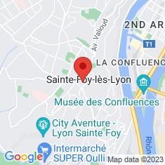 Carte / Plan Sainte-Foy-lès-Lyon