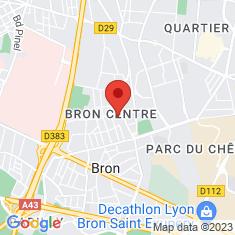 Carte / Plan Bron