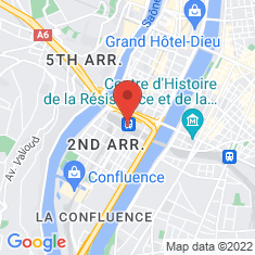Carte / Plan Gare de Lyon-Perrache
