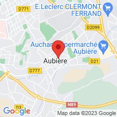 Carte / Plan Aubière