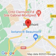 Carte / Plan Beaumont (Puy-de-Dôme)