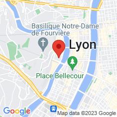 Carte / Plan Primatiale Saint-Jean de Lyon