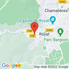 Carte / Plan Royat