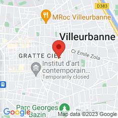 Carte / Plan Villeurbanne