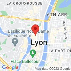 Carte / Plan Musée des beaux-arts de Lyon