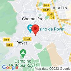 Carte / Plan Gare de Royat - Chamalières