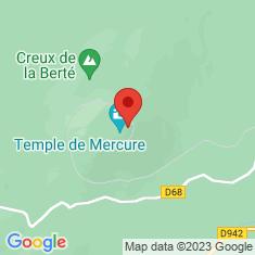 Carte / Plan Temple de Mercure (Puy-de-Dôme)