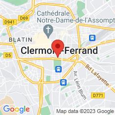 Carte / Plan Muséum d'histoire naturelle Henri-Lecoq