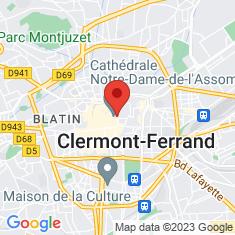 Carte / Plan Cathédrale Notre-Dame-de-l'Assomption de Clermont