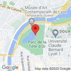 Carte / Plan Parc de la Tête d'Or