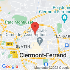 Carte / Plan Clermont-Ferrand