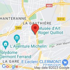 Carte / Plan Musée d'art Roger-Quilliot