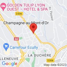 Carte / Plan Champagne-au-Mont-d'Or