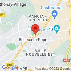 Carte / Plan Rillieux-la-Pape