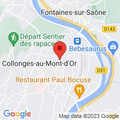 Carte / Plan Collonges-au-Mont-d'Or