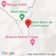 Carte / Plan Mont Blanc de Courmayeur