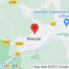 Carte / Plan Blanzat