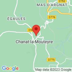 Carte / Plan Chanat-la-Mouteyre