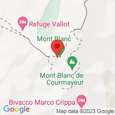 Carte / Plan Massif du Mont-Blanc