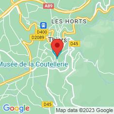Carte / Plan Musée de la coutellerie