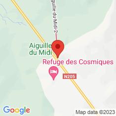 Carte / Plan Aiguille du Midi