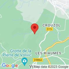 Carte / Plan Château de Tournoël