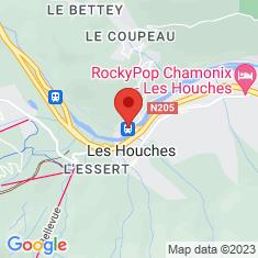 Carte / Plan Gare des Houches