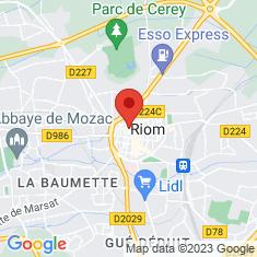 Carte / Plan Basilique Saint-Amable de Riom