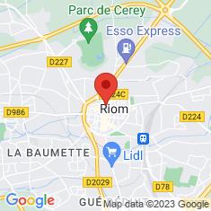 Carte / Plan Riom