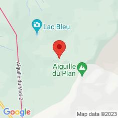 Carte / Plan Aiguille du Peigne