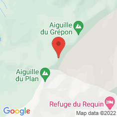 Carte / Plan Aiguille du Fou