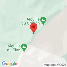 Carte / Plan Aiguille de Blaitière
