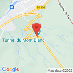 Carte / Plan Tunnel du Mont-Blanc