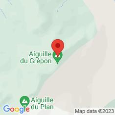 Carte / Plan Aiguille des Grands Charmoz