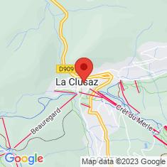 Carte / Plan Église Sainte-Foy de La Clusaz