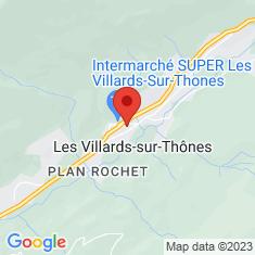 Carte / Plan Église Saint-Laurent des Villards-sur-Thônes